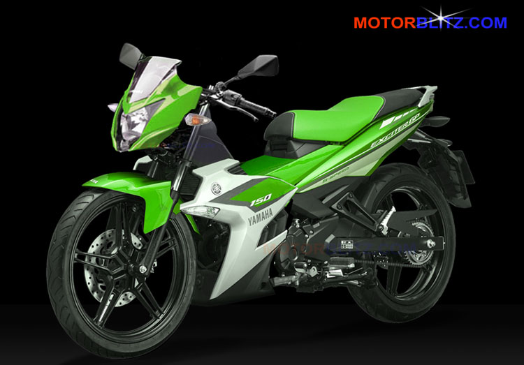 Exciter Jupiter Mx King 150 Ayago Green Motorblitz