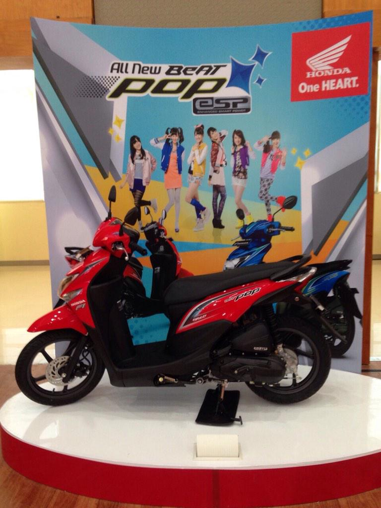 Lawan Mio Blue Core Honda Luncurkan Dua Honda Beat Esp Dan