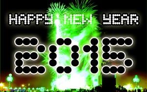 kartu tahun baru new year 2015