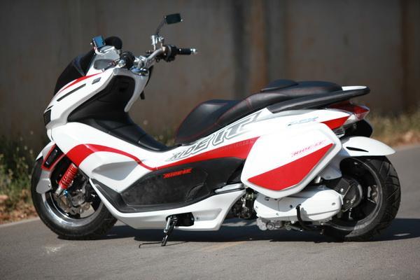 Modif Motor Honda Pcx Custom Motorblitz