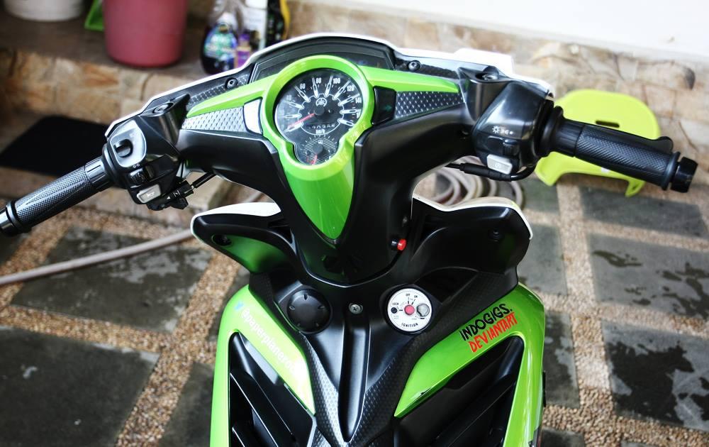 Modifikasi Yamaha Jupiter Mx Dual Muffler Keren Abis