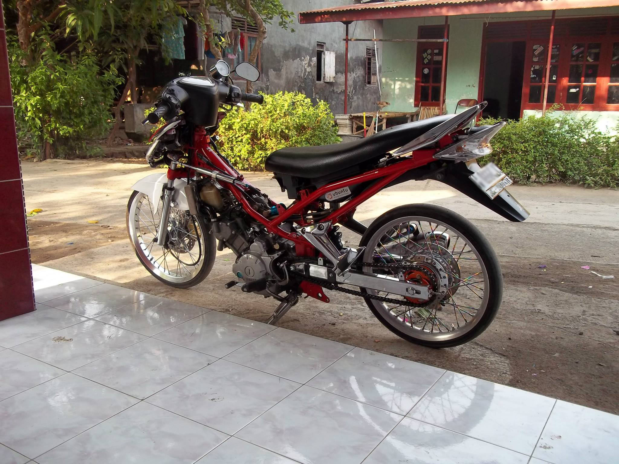 Foto modifikasi jupiter mx 2006