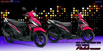 Motor Suzuki address magenta 2