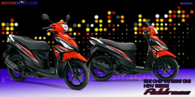 Motor Suzuki address orange tua