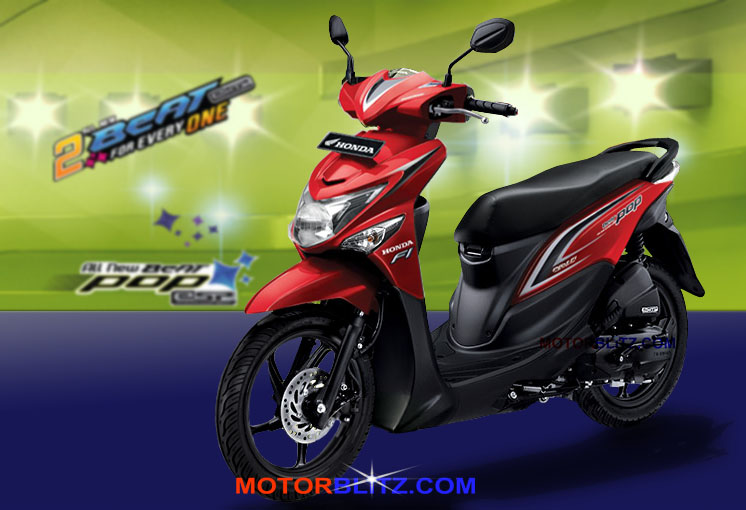 Warna Honda Beat Pop Esp 2015 Warna Orange Pink Ungu Merah