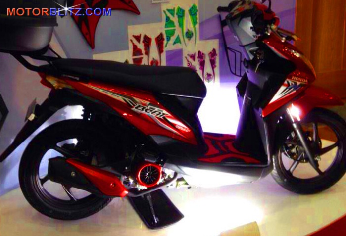 new honda beat pop 5