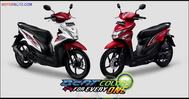 Spesifikasi Harga Warna Dan Fitur All New Honda Beat Esp Dan Beat