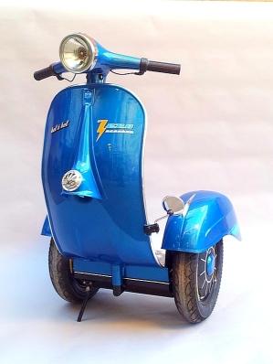 piaggio vespa segway zero scooter 3