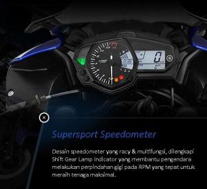 r25  speedometer