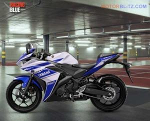 r25 warna putih biru