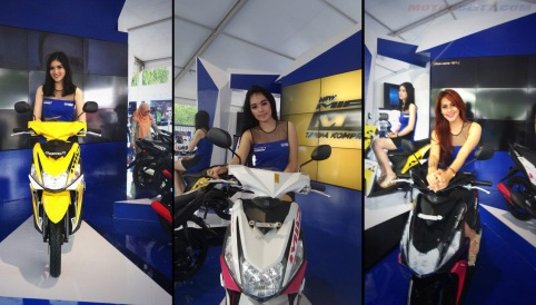 spg launching mio m3 125 blue core sentul