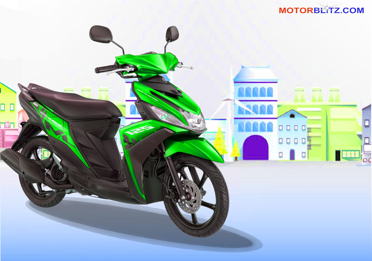 Koleksi Modifikasi Motor Mio J Warna Hijau Terlengkap Kampong Motor