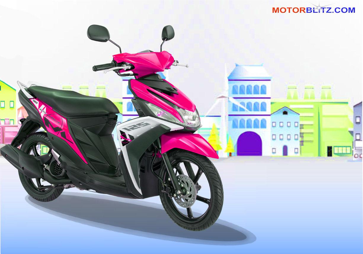 modifikasi mio m3 warna pink  paling bagus