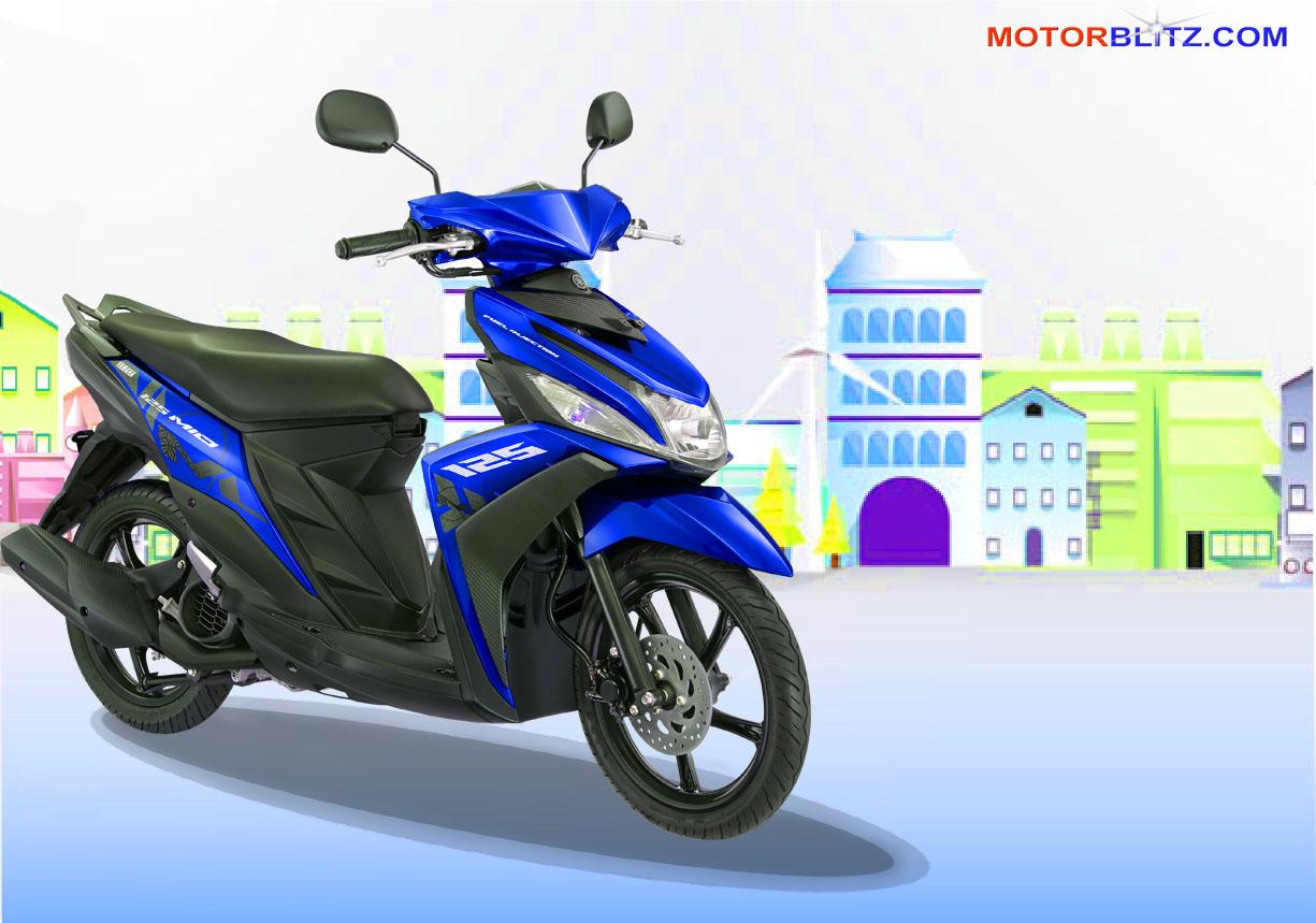 Koleksi Modifikasi Motor Mio Soul Warna Biru Terlengkap Kampong Motor