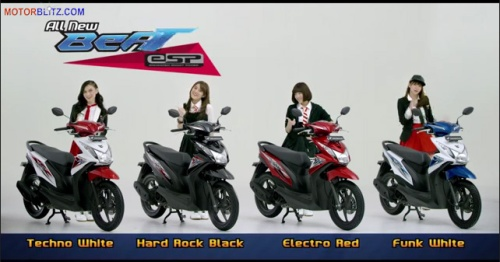 Warna new honda beat esp