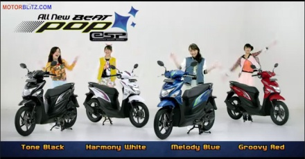 Warna new honda beat pop esp