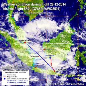 airasia qz 8501 missing rute