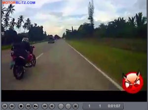 drag suzuki raider 150 vs yamaha serow 225 11