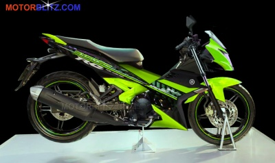 exciter t150 jupiter mx king 150 ayago hijau