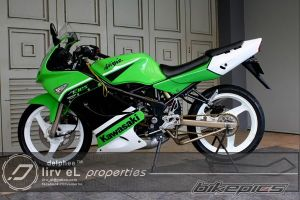 modifikasi ninja 150 rr  10