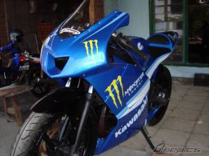 modifikasi ninja 150 rr blue 1
