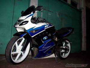modifikasi ninja 150 rr blue 11