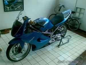 modifikasi ninja 150 rr blue 12
