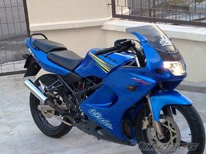 modifikasi ninja 150 rr blue 14