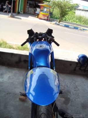 modifikasi ninja 150 rr blue 3