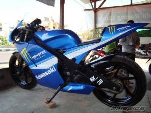modifikasi ninja 150 rr blue 4