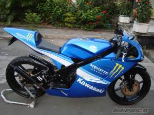 modifikasi ninja 150 rr blue 5