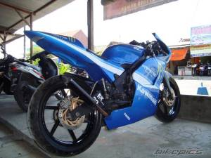 modifikasi ninja 150 rr blue 6