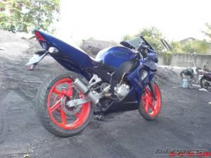 ninja 150 rr modifikasi  1