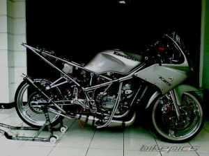 ninja 150 rr modifikasi  17