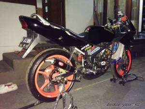 ninja 150 rr modifikasi 6