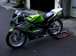ninja 2 tak modif 150 rr x6