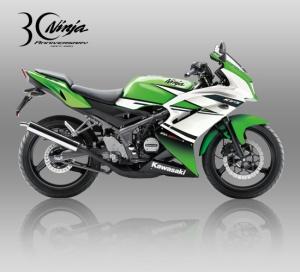 ninja rr warna hijau terkeren
