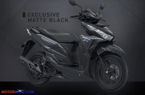 vario 150 hitam matte black