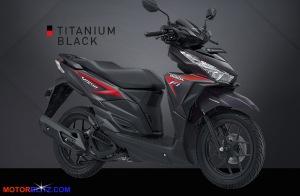 vario 150 hitam merah titanium black