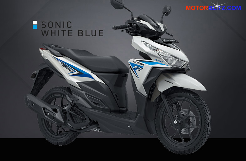 vario 150 putih biru sonic white blue
