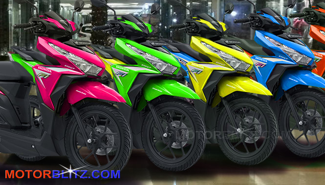 warna hijau kuning orange biru ungu pink new honda