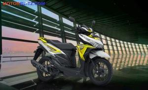 warna vario variasi putih kuning metal bg