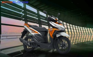 warna vario variasi putih orange bg