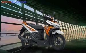 warna vario variasi putih orange bg
