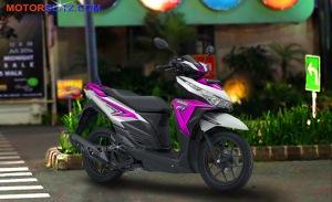 warna vario variasi putih pink bg