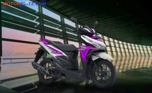 warna vario variasi putih ungu muda bg