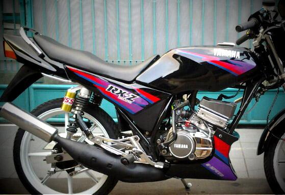 Yamaha Rxz Rzr Indonesia Standar Dan Modifikasi Motorblitz