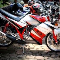 Yamaha RXZ - RZR Indonesia standar dan modifikasi.