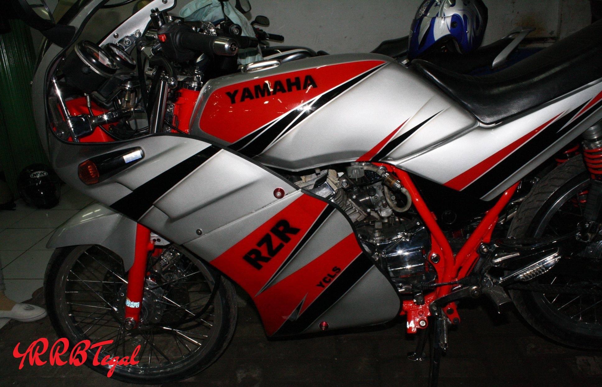 yamaha rxz rzr indonesia standar  modifikasi