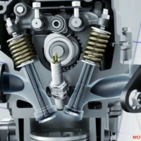 Detail cara kerja VVA atau Variable Valves Actuation di mesin Yamaha NMAX 150 Blue Core.